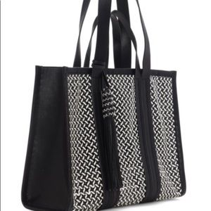 🇺🇸👛EUC Vince Camuto Large Tote Bag Indra Woven!